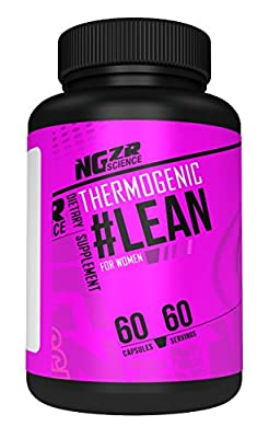 Thermogenic Weight Loss Dietary Supplement - Formulated for Women - High-Powered Fat Burner - Made in USA - 60 Capsules