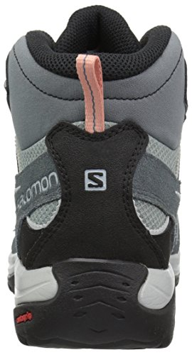 Salomon Damen Ellipse 2 Mid LTR GTX W Stiefeletten Lead/Stormy Weather/Coral Almond