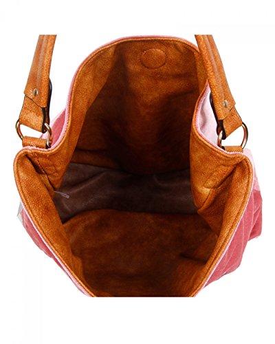 Velvet Grey Handbags Women's REVERSIBLE Handbags Way Two Reversible LeahWard Use D Women Faux For BL Leather Shoulder FqZIwxnt