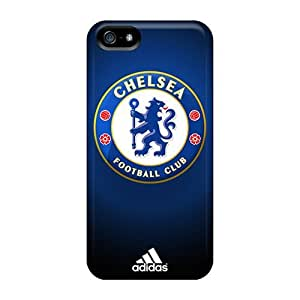 Premium Chelsea Fc Back Covers Snap On Cases For Iphone 5/5s