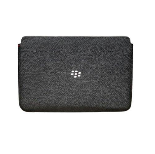 BlackBerry Playbook Leather Sleeve - Black (Skin Torch Blackberry)