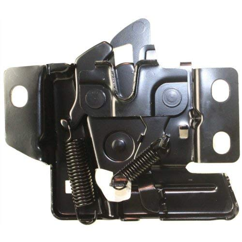 Hood Kit Compatible with HONDA Civic 1996-1998 Set of 4 with Hood Latch and Right Side and Left Side Hood Hinge