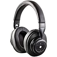 SonicSolace Active Noise Cancelling Bluetooth Over Ear Headphones Black