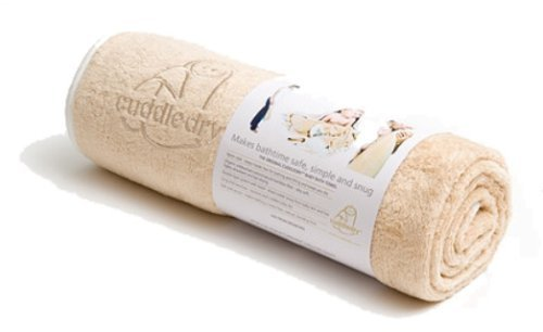 Cuddledry Apron Bath Towel (Oatmeal) by Cuddledry