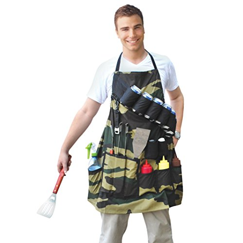 BigMouth Inc The Grill Sergeant BBQ Apron made our list of Unique Camping Gifts For Men