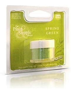 rainbow dust comestibles gteau colorant alimentaire poudre vert printemps - Colorant Alimentaire En Poudre Pas Cher