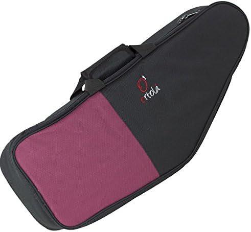 Ortola 6892-033 - Funda saxo tenor, color negro y rojo: Amazon.es: Instrumentos musicales