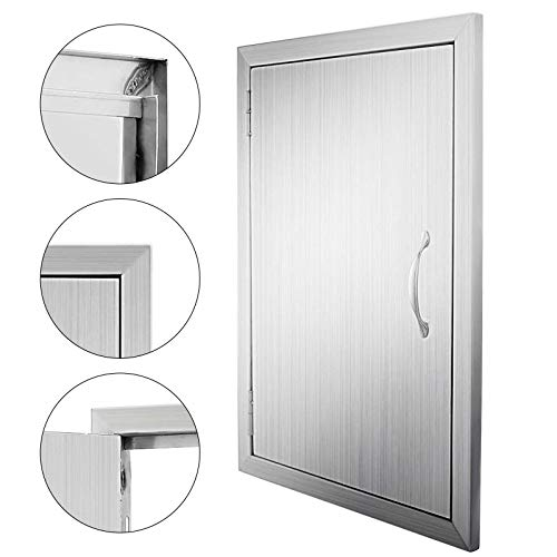 Mophorn Double Wall BBQ Access Door 17