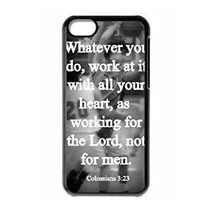 Favorite Sayings&Quotes iPhone 5C Case Black Yearinspace981118