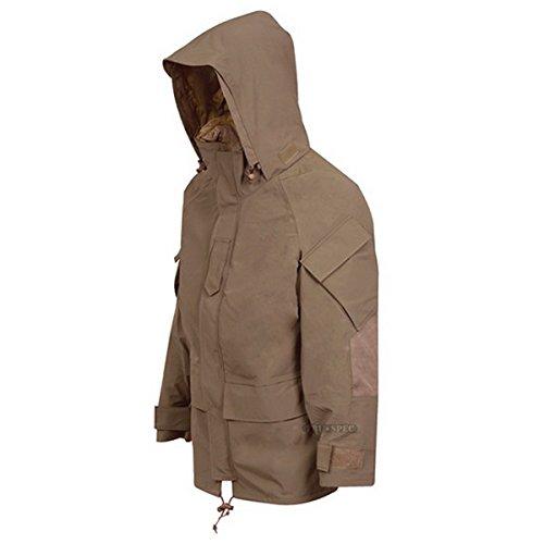 TRU-SPEC Men's Outerwear Series H2o Proof Gen2 Ecwcs Parka, Coyote, Large ()