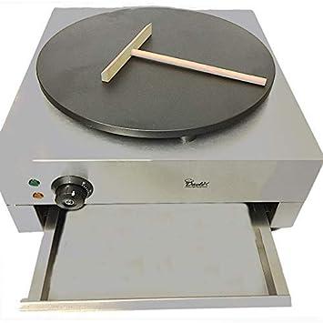 DAVLEX Comercial Crepe Máquina, Tortitas Fabricante Placa ...