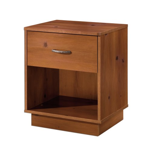 South Shore Logik Collection Night Stand, Sunny Pine