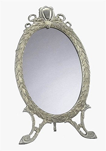 AA Importing Oval Mirror in Pewter Finish ()