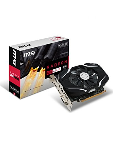 6 opinioni per MSI Radeon RX 460 4G OC Radeon RX 460 4GB GDDR5- graphics cards (AMD, Radeon RX
