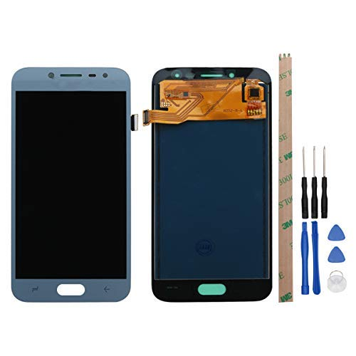 Replacement for Samsung Galaxy J2 pro 2018 J250 J250F LCD Display Screen Touch Digitizer +A Set of Tools(Blue)