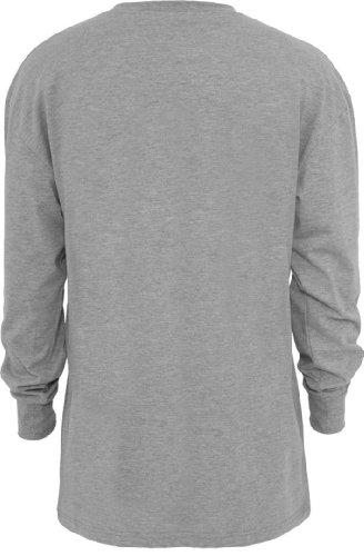 Urban Classics da uomo TB009 Tall maglietta a maniche lunghe grigio Grey