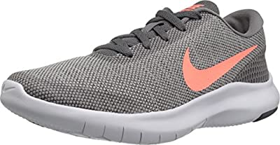 Nike Women's Flex Experience RN 7 Running Shoe Gunsmoke/Crimson Pulse/Vast Grey White Size 10 M US