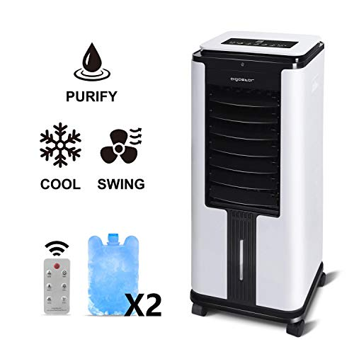🥇 Aigostar Elsa 33QNU- Climatizador evaporativo con mando a distancia