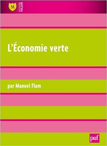 L'économie verte pdf ebook