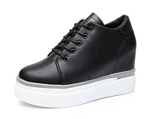 los zapatos del elevador Ms Spring mollete de fondo grueso zapatos zapatos casuales para ayudar a los zapatos bajos de los zapatos de las señoras , US5.5 / EU35 / UK3.5 / CN35