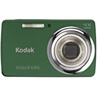 Kodak EasyShare M532 14 MP Digital Camera with 4x Optical Zoom and 2.7-Inch LCD - Green Basic Facts Review Image