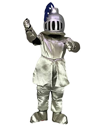 rushopn Adult Knight in Pink Armour Mascot Costumes People -