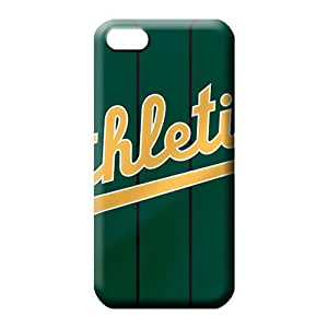 iphone 6plus 6p Collectibles Shock Absorbent Protective phone back shells oakland athletics mlb baseball
