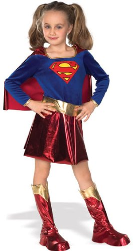 Deluxe Supergirl Child Costume - Medium (Superwoman Baby Costumes)