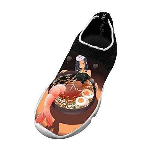 Dinner Ramen Flyknit Shoes Light Sports Transform Running Shoes For Kids