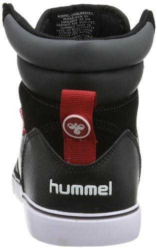 hummel HUMMEL STADIL FLY SHOT HIGH - Caña baja de cuero unisex negro - Schwarz (BLACK 2001)