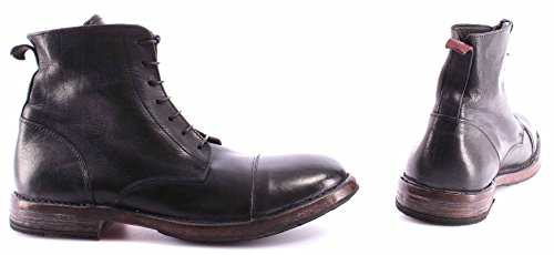 MOMA Scarpe Ankle Boots Uomo 55507-4A Cusna Nero Pelle Vintage Made Italy Nuove