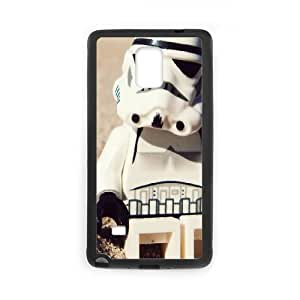 Samsung Galaxy Note 4 Cell Phone Case Black Star-Wars-Storm-Trooper Phone Case Cover Custom 3D CZOIEQWMXN1269