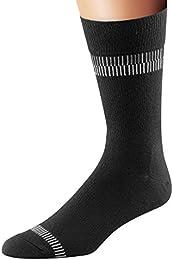 Men's Everyday in Line Crew Moisture Wicking Socks