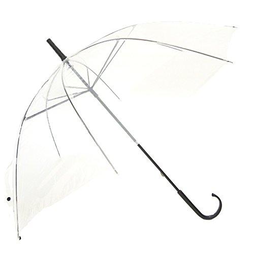 50cmビニール傘 透明 60本セット(60本×1ケース) B008N8IGO8