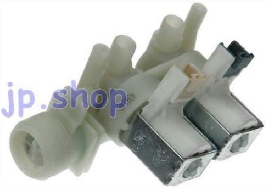 Ariston Indesit - Electroválvula para lavadora, carga de agua, 2 vías, 180°, C00110333
