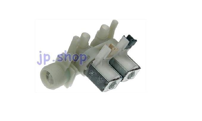 Ariston Indesit - Electroválvula para lavadora, carga de agua, 2 ...