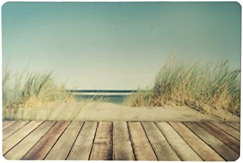 Schreibtischunterlage Motiv: Steg durch Düne 40 x 60 cm abwischbar Strand Meer Sand Urlaub
