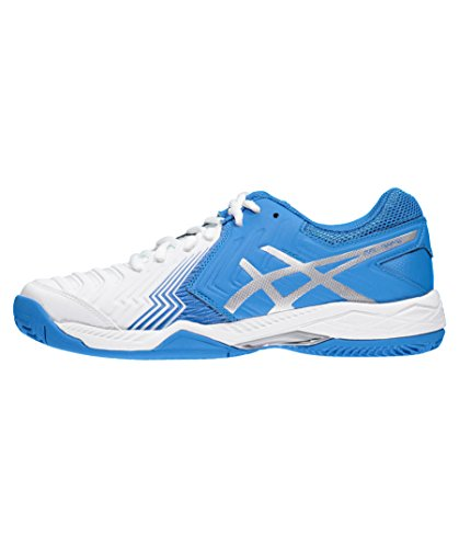 Asics Gel-Game 6 Clay Tennisschuh Damen blau - weiß