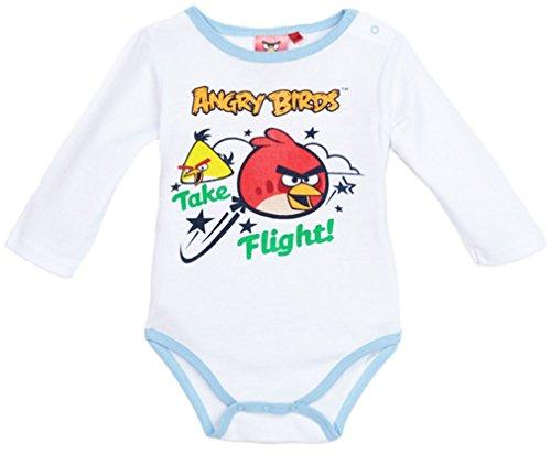Bébé Angry Longues 23mois Manches Birds Body bleu Blanc dfq6txwdCn
