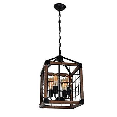 Beuhouz Wire Cage Rustic Light