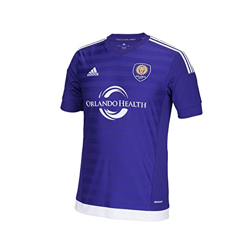 MLS Orlando City SC Boys Replica Short Sleeve Team Jersey, Regal Purple, Medium