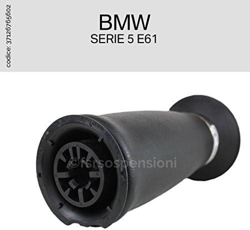 BMW SERIE 5 E61 37126765602 MOLLA ARIA SOFFIONE SOSPENSIONE AMMORTIZZATORE POST