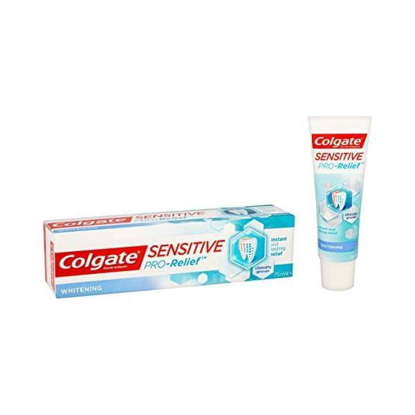 Colgate Sensitive Pro-Alivio pasta dentífrica blanqueadora, 75ml 6