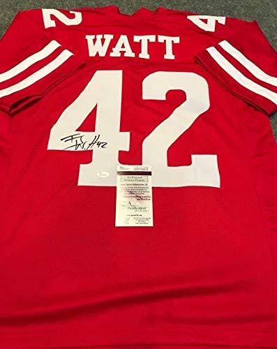 efc8872acec J.J. Watt Wisconsin Badgers Memorabilia