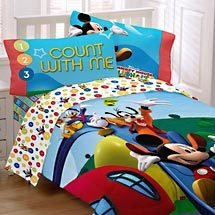 Mickey Mouse Clubhouse Full Single Bed Set Amp Padded Duvet