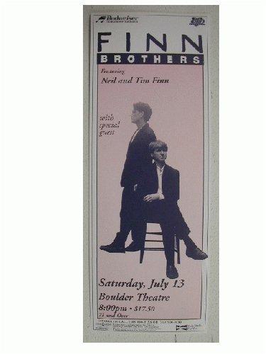 Tim Neil Finn Handbill Poster Split Enz Crowded House RhythmHound