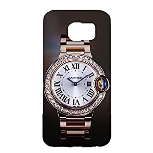 Customized Style Cartier Watch Logo Phone Case 3D Phone Case Snap on Samsung Galaxy S6 Cartier Series