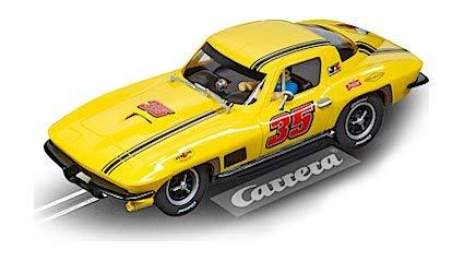 - Carrera 27615 Chevrolet Corvette Sting Ray #35 Evolution Analog Slot Car Racing Vehicle 1:32 Scale