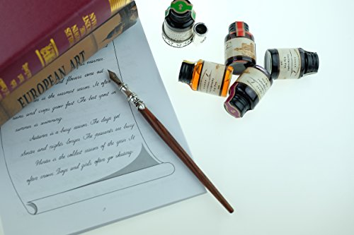 GC-QUill-Calligraphy-Pen-Set-Writing-Case-with-5-Bottle-Ink