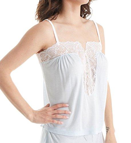 Eberjey I DO Camisole (C1586) S/White/Bridal Blue
